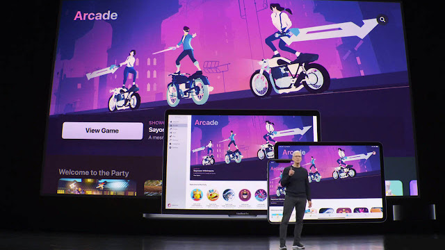 Apple launches Arcade game