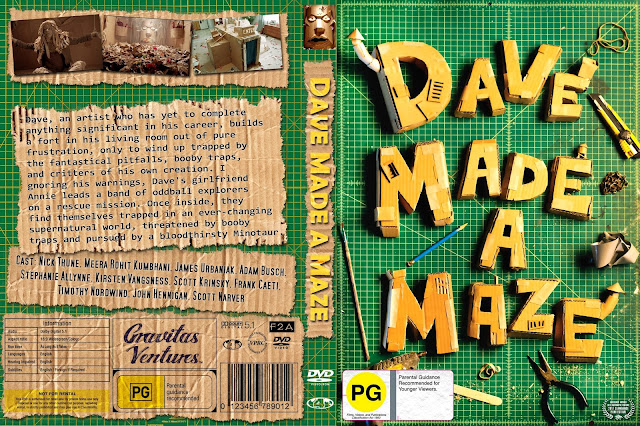 Dave Made A Maze DVD Cover