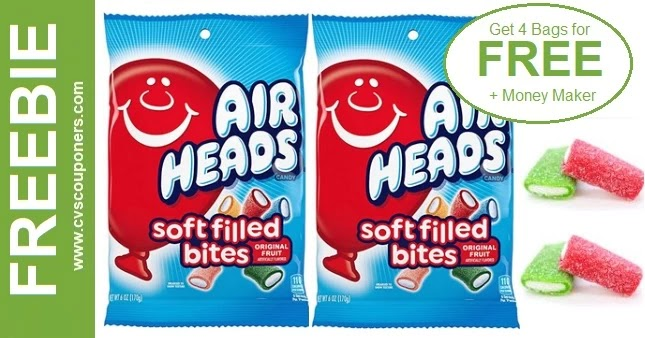 FREE Bag of Airheads Candy at CVS