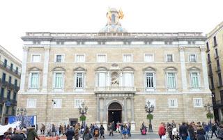Plaça de Sant Jaume, Palacio de la Generalidad de Cataluña.