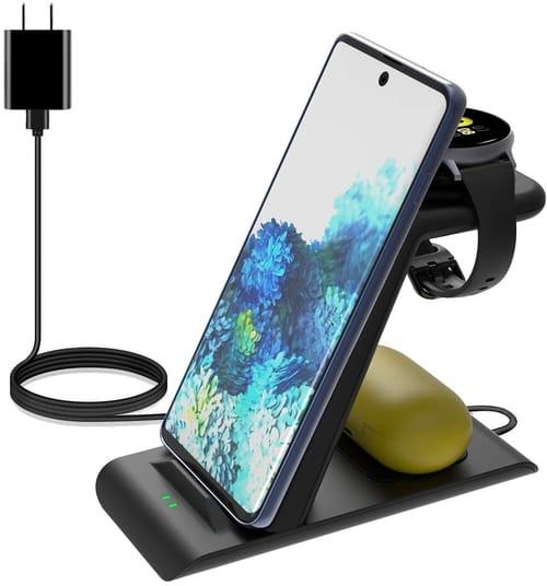 Elobeth JH12 Samsung Wireless Charging Station Stand