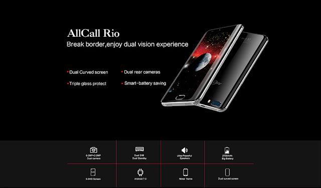 Allcall Rio 3G Smartphone - GOLDEN