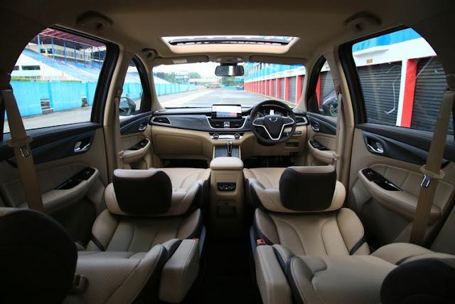 Ini interior Wuling Cortez.