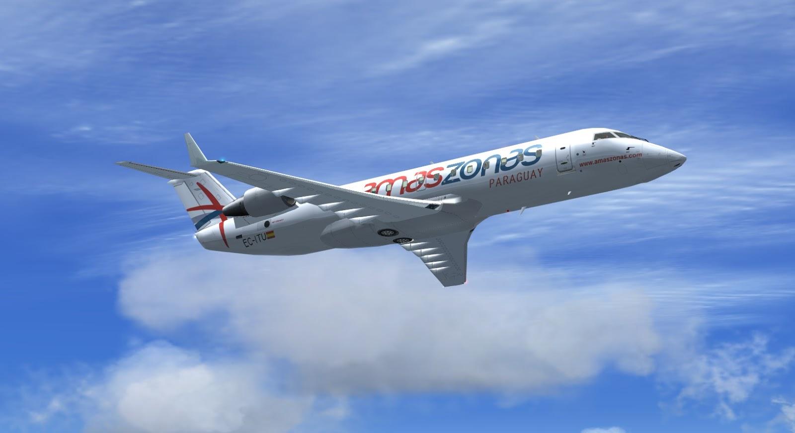 Assunção - Curitiba: Primeiro voo da nova linha internacional