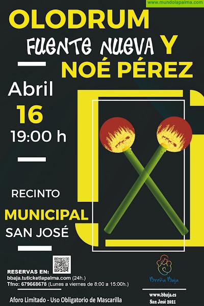 BREÑA BAJA: Percusión & Acordeón en San José