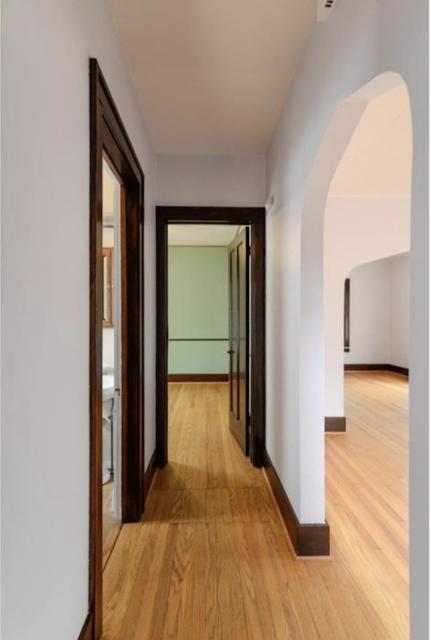 color photo of interior of non-bump-out later floor plan of Sears Winona, 507 Berkley Ave Ann Arbor MI