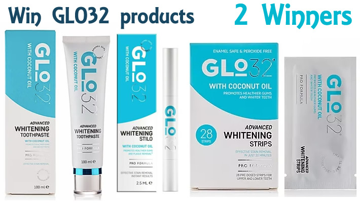 Win a bundle of Glo32 oral care products