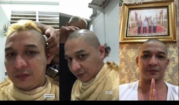 Disentil Mendagri Tito, Kontroversi Rambut Pirang Pasha Berakhir Gundul