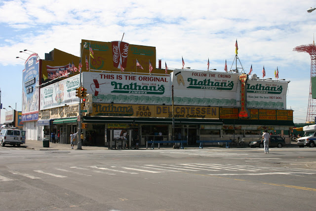 Nathan's famous-Coney island-New York