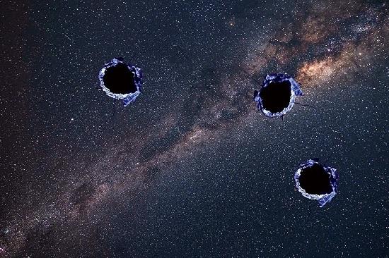 Tìm thấy nhiều lỗ thủng trong Dải Ngân Hà, thứ gì đó khổng lồ đã xuất hiện trong vũ trụ