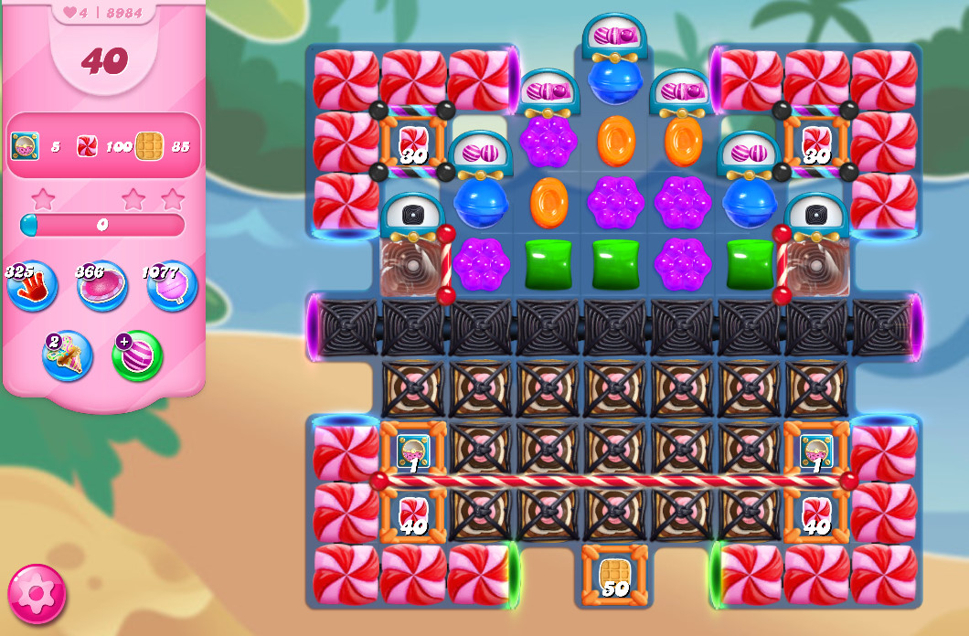 Candy Crush Saga level 8984