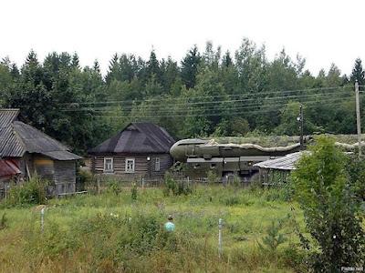 Russisches Dorf