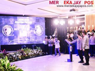 Kapolri Launching Aplikasi Propam Presisi sekaligus Membuka Rakernis di Mabes Polri