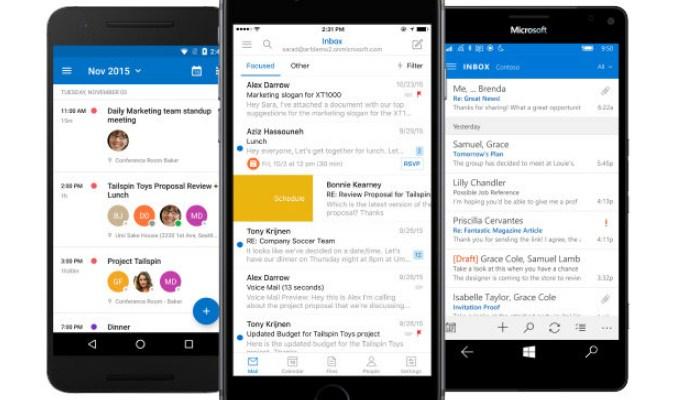 Aplikasi Kalender untuk Smartphone Android - Microsoft Outlook