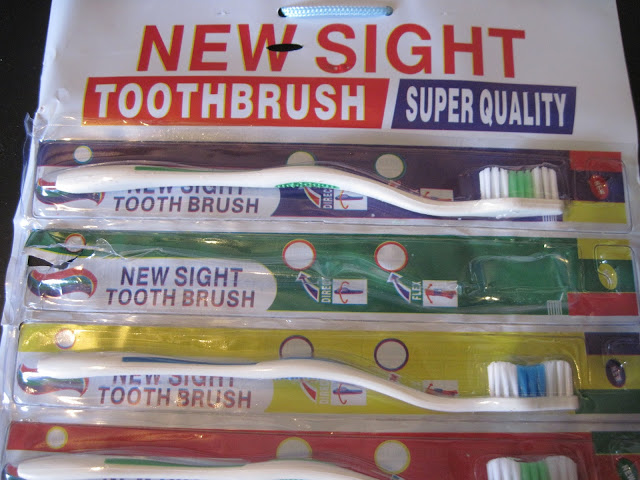 NEW SIGHT toothbrush review.