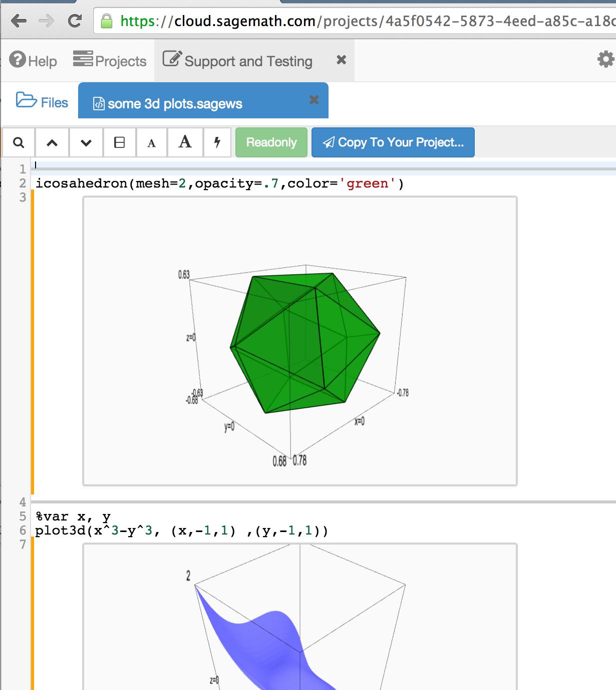 Sage Open Source Mathematics Software Public Sharing In