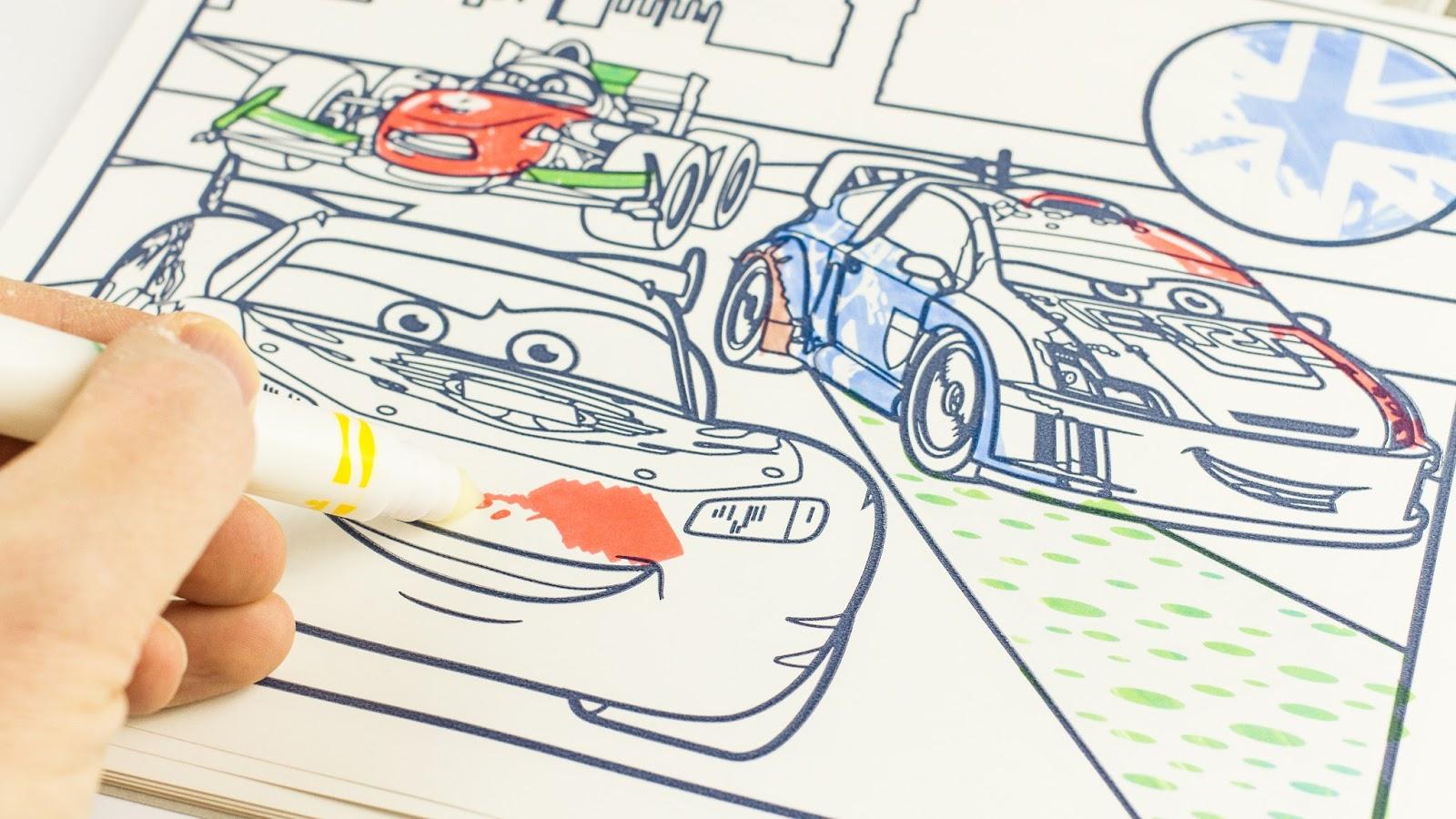 crayola coloriage magique cars