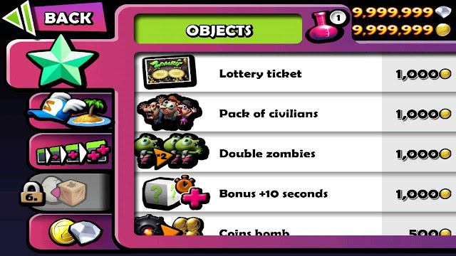 cheat zombie tsunami unlimited money dan diamond