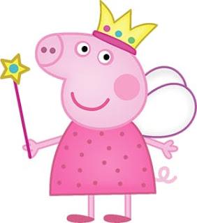 imagen de peppa pig hada