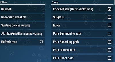 Tutorial Cara Menggunakan Character Non Player Control [NPC] Di Naruto Shippuden : Ultimate Ninja Impact PPSSPP