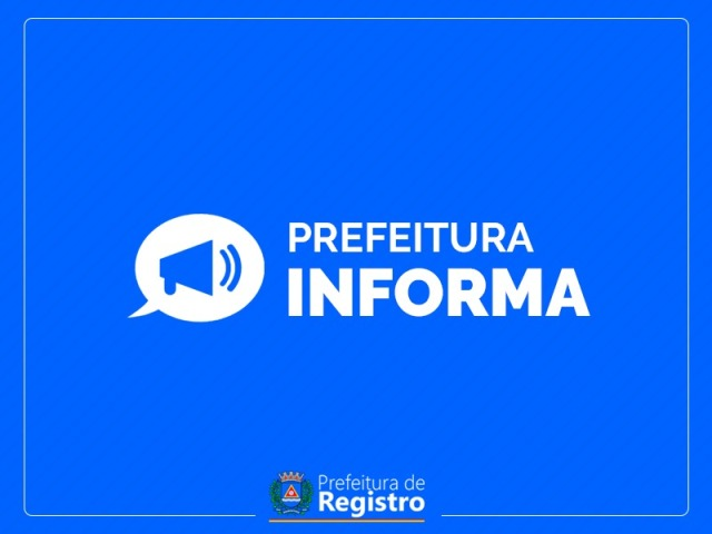 Decreto estabelece ponto facultativo o dia 30/10 em Registro-SP