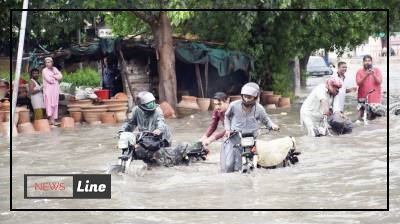 Unprecedented heavy rains swamp parts of Karachi