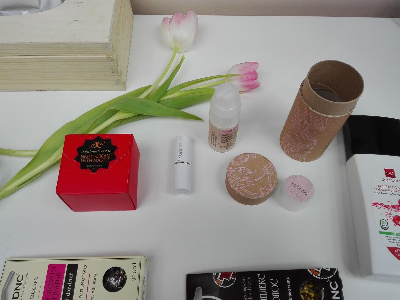 Kosmetyki naturalne, resibo, krem pod oczy, felicea, hristina, nova kosmetyki, dnc