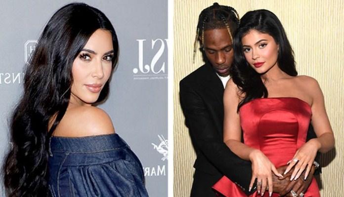 Kim Kardashian revela o que está producindo entre Kylie Jenner e Travis Scott tras a súa división