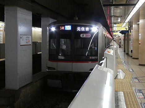 【速報】副都心線で元住吉行きが運行される