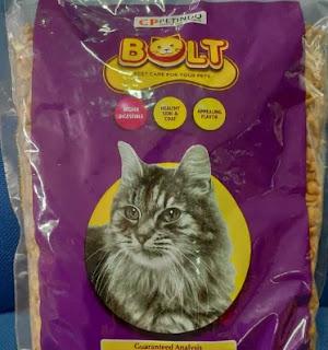 Makanan Kucing Bolt  20 kg