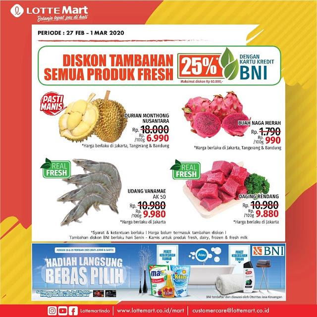 #LotteMart - #Katalog Promo Koran Periode 27 Feb - 01 Mar 2020