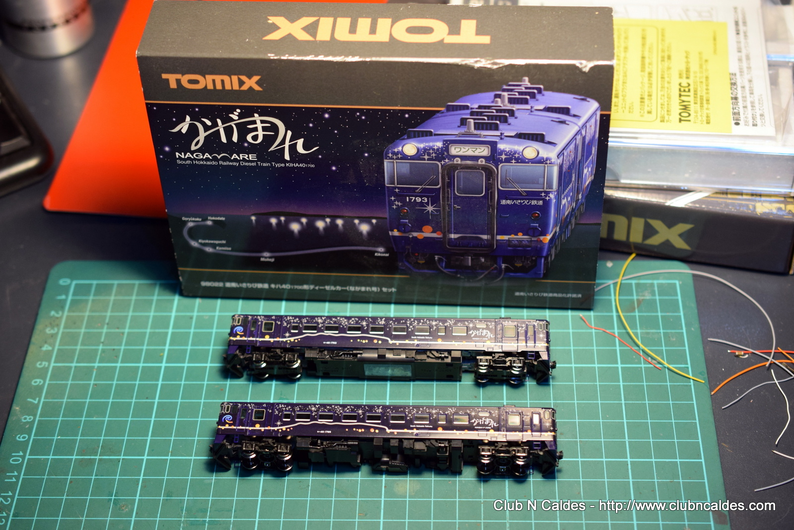 Club N Caldes Tomix Kiha40 1700 Nagamare Wiring Dcc As Well Model Train Layouts On Models Are Perfectly Built But Converting Them To Is Always Tricky And Everything Must Be Disassembled My Strategy Will Solder Single Wires