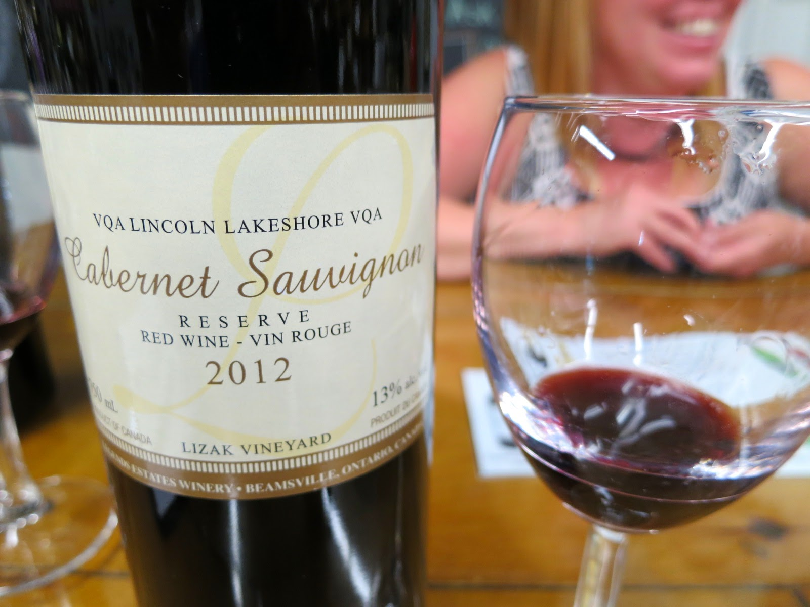 Wine Review of 2012 Legends Estates Cabernet Sauvignon from Lizak Vineyard, VQA Lincoln Lakeshore