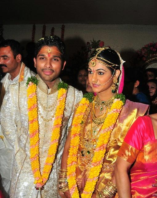 Tamil Film Actress Wedding Photos