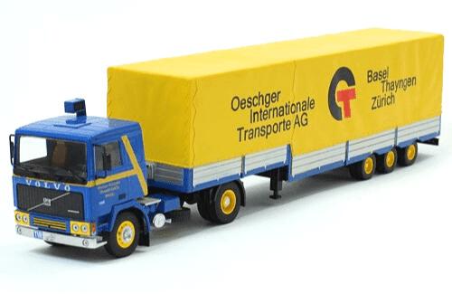 coleccion camiones articulados, camiones articulados 1:43, Volvo F12 camiones articulados
