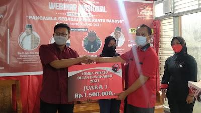 PDIP Mataram Umumkan Pemenang Pidato Bung Karno