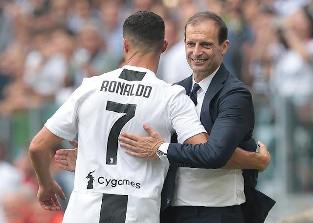 Аллегри: Роналду — будущее «Ювентуса»
