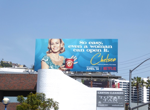 Chelsea season 2 Can of worms billboard