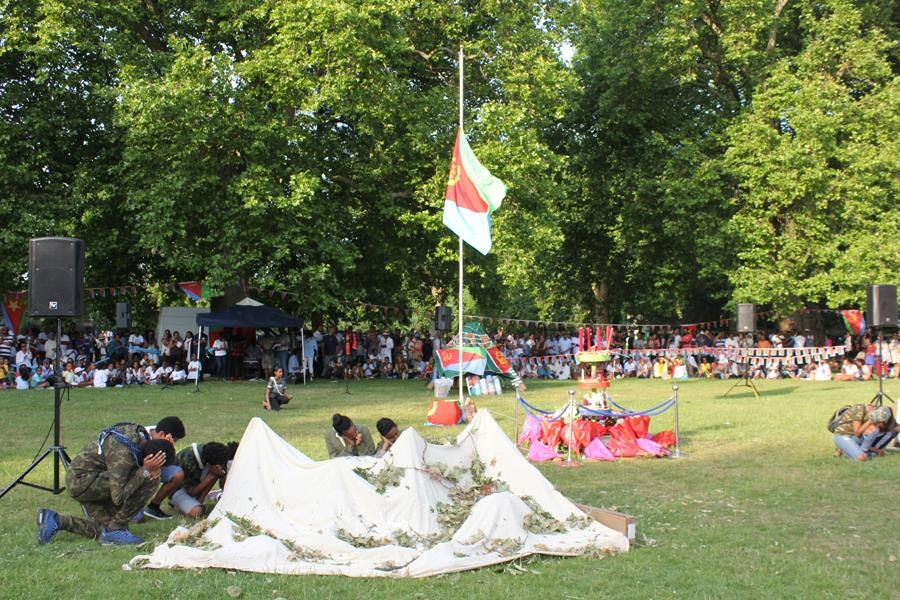 <Eritrean Nationals in UK, commemorate Martyrs Day!