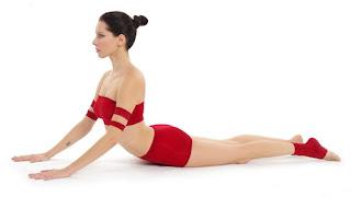 Cobra yoga position