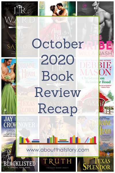 October 2020 Book Review Recap | About That Story