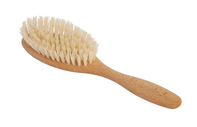 Redecker Vegan Tampico Fiber Hairbrush
