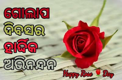 Happy Rose Day Odia Shayari