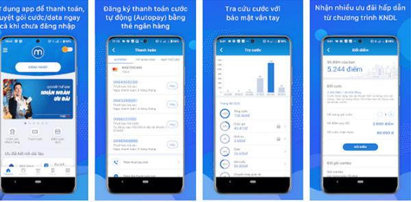 Tải My MobiFone - Ứng dụng tra cứu thông tin tài khoản MobiFone miễn phí b