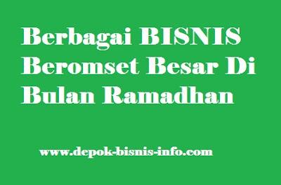 Bisnis, Info, Bulan, Ramadhan