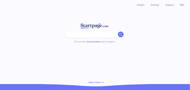 Startpage Situs Mirip Google