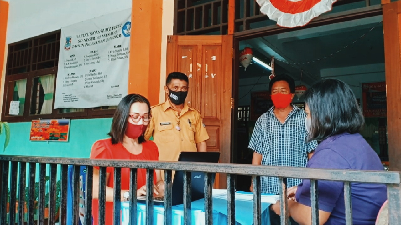 PPDB SD Negeri 02 Manado, baru 48 Siswa yang Terverifikasi