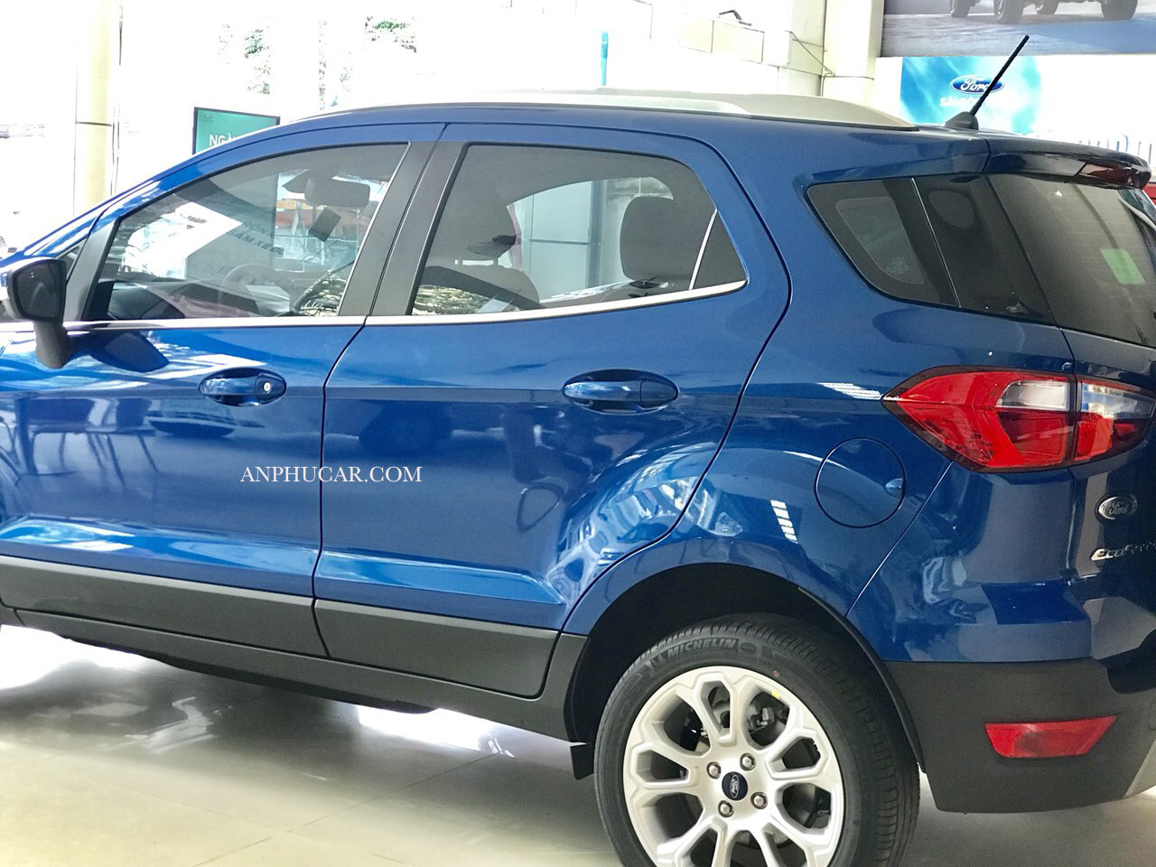 màu xanh Ford Ecosport 2019