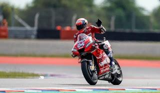 Dovizioso Tercepat di FP2 MotoGP Argentina
