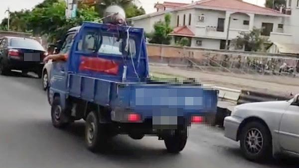 里長伯駕小貨車放送確診者個資 溪湖分局調查函送法辦